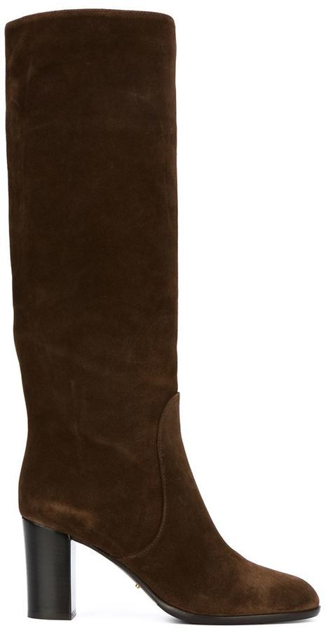 Sergio Rossi Knee High Boots, $833