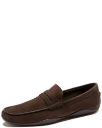 Harry's of London Harrys Of London Basel Suede Penny Loafer