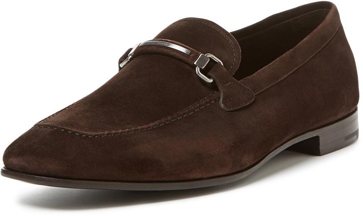 e5dee14a905 ... Prada Suede Logo Loafer ...