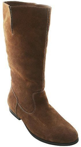 Gc Shoes Mandy Suede Riding Boots In Brown 6 | Where to buy & how ...