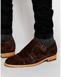 Paul Smith Ps By Atkins Suede Monk Shoes