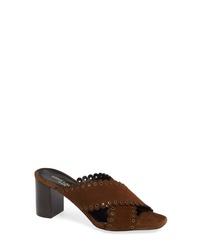 Saint Laurent Loulou Grommet Sandal