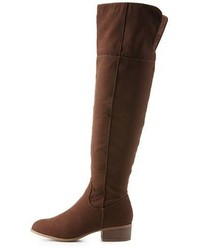 Charlotte Russe Flat Over The Knee Boots