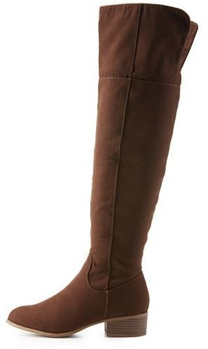 d6a46e22898 ... Charlotte Russe Flat Over The Knee Boots ...