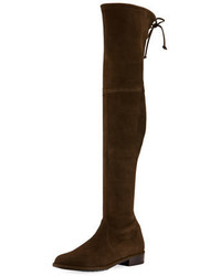 Lowland suede over the knee boot medium 3736108