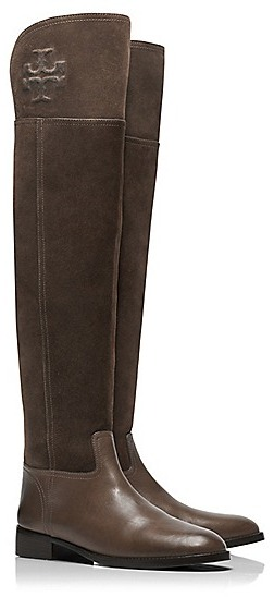 85d775952fbc ... Tory Burch Simone Over The Knee Suede Boots