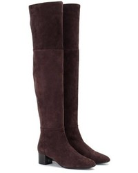 Tom Ford Suede Over The Knee Boots
