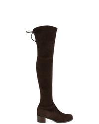 Stuart Weitzman Tie Top Over The Knee Boots