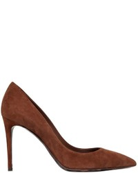 Dolce gabbana 85mm suede pumps with leopard sole medium 553084