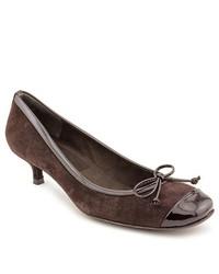 Stuart Weitzman Nuballot Brown Suede Pumps Heels Shoes Newdisplay
