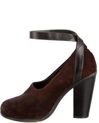 Rag & Bone Suede Mary Jane Pumps