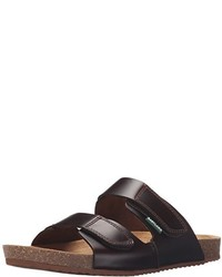 Dark Brown Suede Sandals
