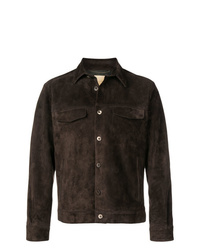 Ajmone Suede Shirt Jacket