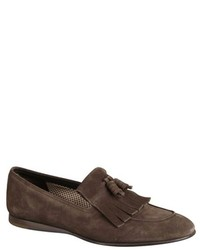 Mens Tasseled Suede Loafers Prada BPTxoFgDQ