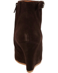 4e761c001cea ... Dark Brown Suede Wedge Ankle Boots Lanvin Suede Wedge Ankle Boot Lanvin  Suede Wedge Ankle Boot ...