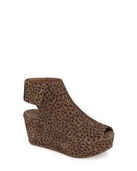 Chocolat Blu Cutout Wedge Sandal