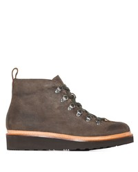 Grenson Bobby Suede Mountain Boots