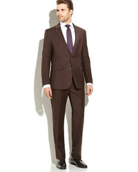 Dark Brown Suit
