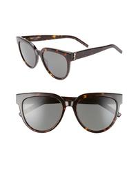 Saint Laurent 54mm Cat Eye Sunglasses