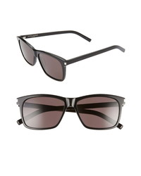 Saint Laurent 57mm Rectangle Sunglasses