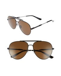 Bottega Veneta 59mm Aviator Sunglasses