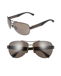BOSS 65mm Aviator Sunglasses