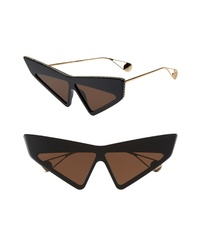 Gucci 70mm Cat Eye Sunglasses