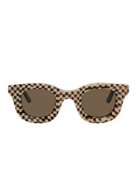 Rhude Black And Off White Thierry Lasry Edition Rhodeo Sunglasses