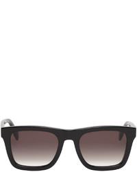 Alexander McQueen Black Square Sunglasses