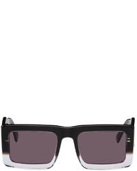 Marcelo Burlon County of Milan Black Transparent Retrosuperfuture Edition Templo Sunglasses
