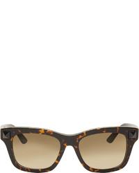 Valentino Brown Havana Tortoiseshell Sunglasses