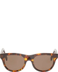 A.P.C. Brown Tortoiseshell Super Edition Sunglasses