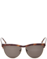 Prism Buenos Aires Brown Mother Of Pearl Sunglasses