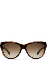 Gucci Cat Eye Horsebit Optyl Sunglasses