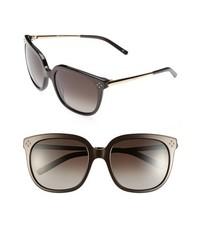 Chloé Chloe Boxwood 55mm Sunglasses Brown One Size