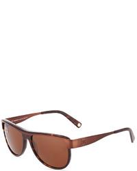 Balmain Dark Havanametal Sunglasses Brown