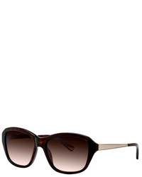 Nina Ricci Dark Tortoise Acetate Sunglasses