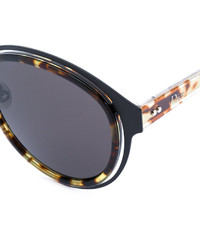 Christian Dior Dior Eyewear Tortoiseshell Round Frame Sunglasses