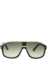 639a16b6ed ... Tom Ford Elliot Acetate Sunglasses Brown ...