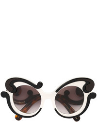 Prada Eyewear Minimal Baroque Sunglasses