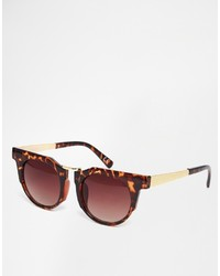 Jeepers Peepers Flat Brow Sunglasses
