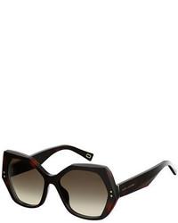 Marc Jacobs Geometric Acetate Sunglasses