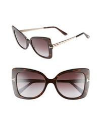 Tom Ford Gianna 54mm Sunglasses
