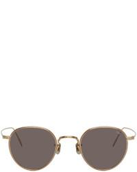 Eyevan 7285 Gold 539 Sunglasses