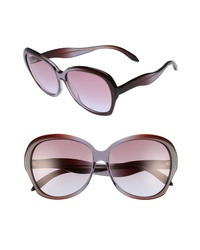 Victoria Beckham Happy 60mm Butterfly Sunglasses