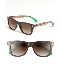 Marc by Marc Jacobs 51mm Retro Sunglasses Brown Brown Green Brown One Size