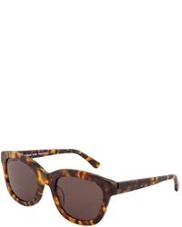 Michael Kors Michl Kors Michl Kors Mks853 Scarlet Dark Tortoise Brown Sunglasses