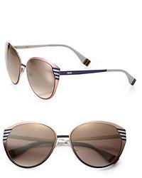 deb4697844 Women s Dark Brown Sunglasses from Saks Fifth Avenue