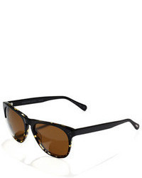 Oliver Peoples Polarized Daddy B Sunglasses Dark Tortoise