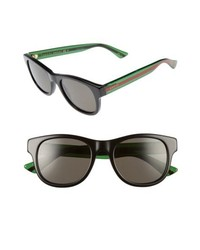 Gucci Pop Web 52mm Sunglasses